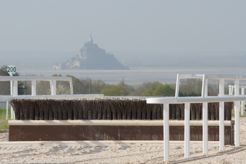 obstacle mont saint michel